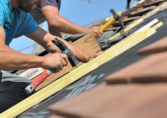 Travaux couverture toiture